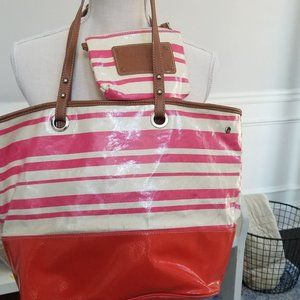 Nine West Tote with Smaller Bag Inside